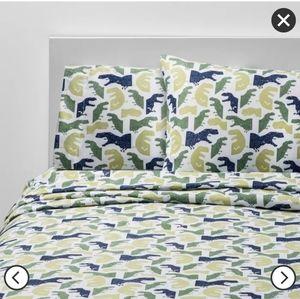 Pillowfort Colossal Chomp Microfiber Sheet Set